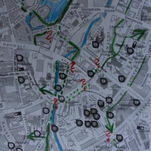 Fußverkehrs-Check Lui-Hbf @ Luisenplatz, Darmstadt-Info